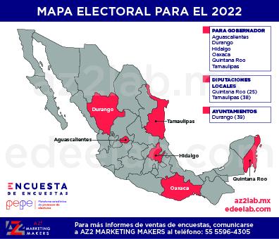 Mapa Elecciones 2022